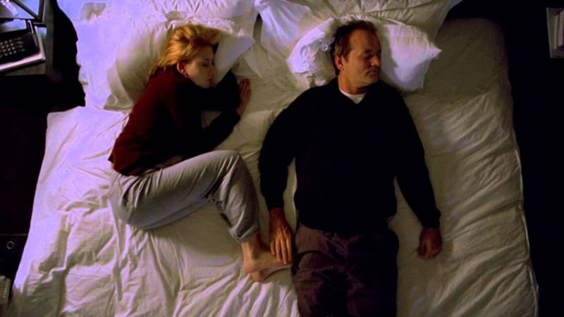 Escena del filme Lost in Translation