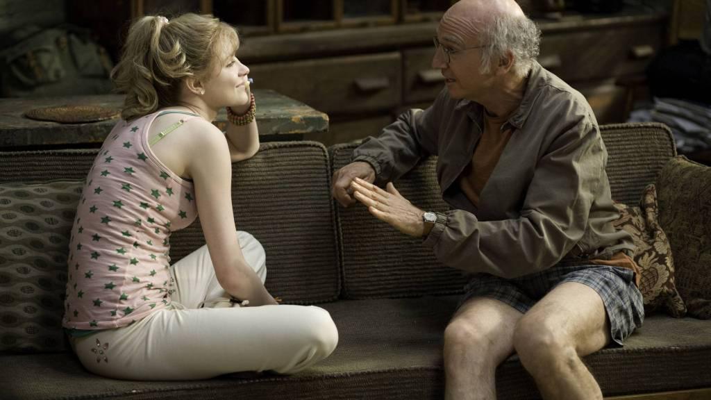 Whatever Works  Evan Rachel Wood y Larry David  Foto promocional del filme