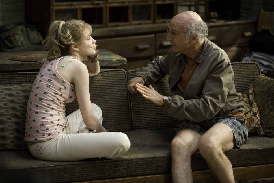 Whatever Works  Evan Rachel Wood y Larry David  Foto promocional del filme