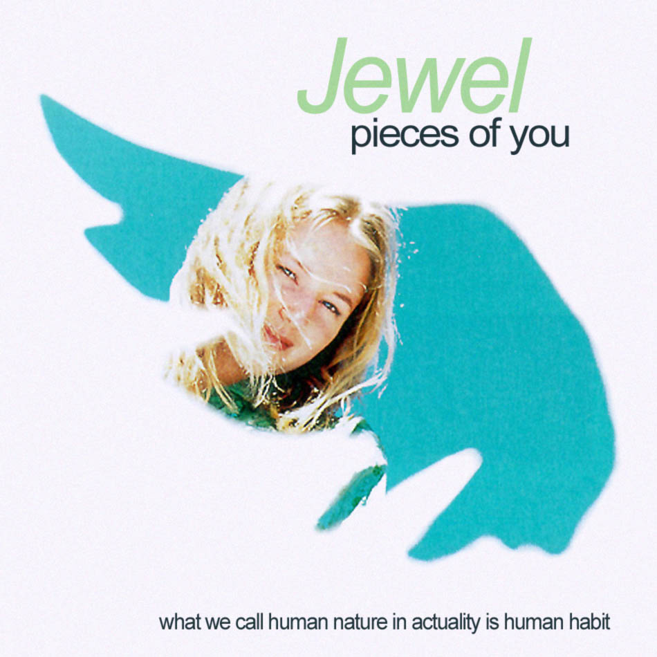 Arte del 'Pieces of You' de Jewel  1995
