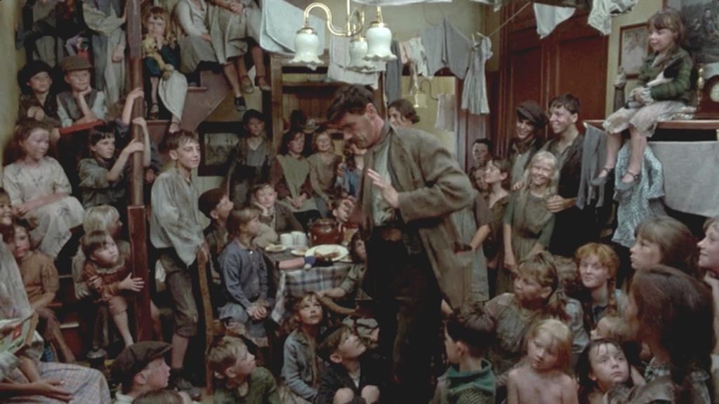 Una escena del filme 'The Meaning of Life', de los Monty Python