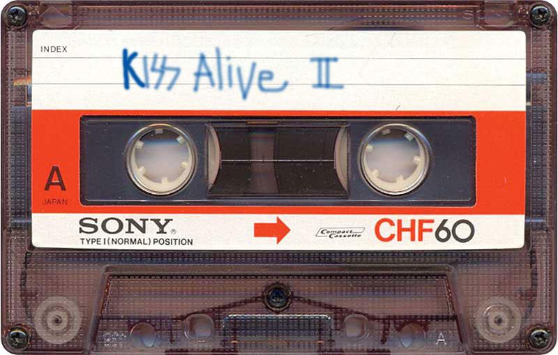 Cassette Sony CHF 60