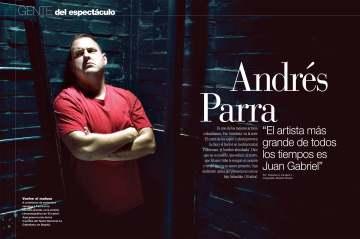 Andrés Parra © Revista GENTE / Fotografía: Ricardo Pinzón