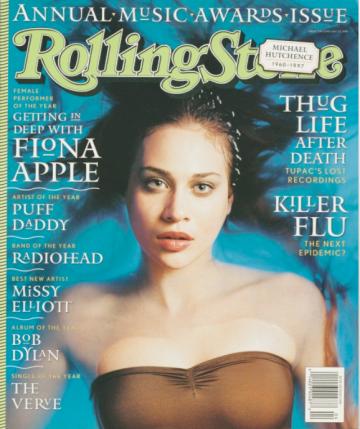 Fiona Apple  Rolling Stone Magazine  Photo: Mark Seliger