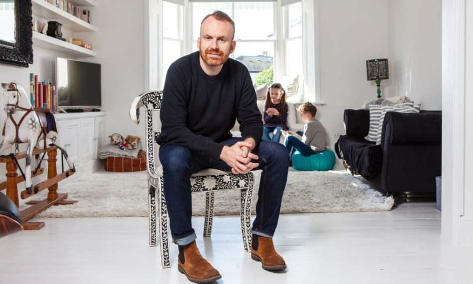 Matt Haig fotografía sacada de The Observer